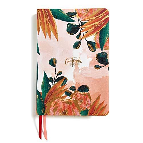 RVR 1960 Centrada En Cristo, Floral Símil Piel Con Índice: Biblia Devocional Para Mujeres