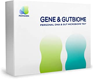 Psomagen Gene & GutBiome : at-Home DNA and Gut Health Test Bundle [Limited Time Offer, Reg. $199] Personal & Wellness Traits, Nutrition & Metabolism