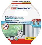 tesa TE55744-00002-03 Powerbond Transparente 5m x 19mm mancheta