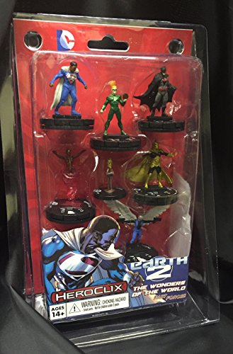 HeroClix DC Superman & Wonder Woman Earth 2: Wonders of The World Fast Forces