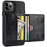 KIHUWEY iPhone 11 Pro Max Wallet Case Credit Card Holder, Premium...