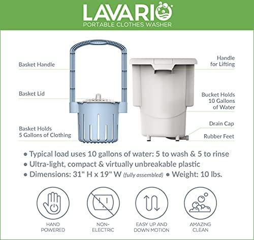 Lavario Portable Washer