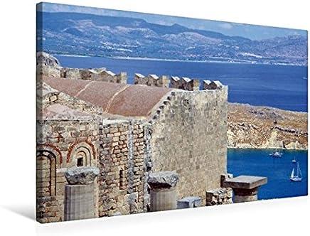 Calvendo Vista lAcropoli sul Porto di Lindos, 75x50 cm