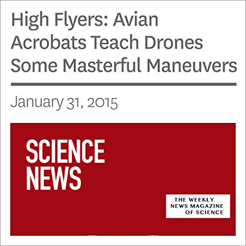 High Flyers: Avian Acrobats Teach Drones Some Masterful Maneuvers audiobook cover art