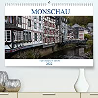 Monschau - Fachwerkidylle in der Eifel (Premium, hochwertiger DIN A2 Wandkalender 2022, Kunstdruck in Hochglanz): Spaziergang durch eine Perle der Fachwerkskunst (Monatskalender, 14 Seiten )