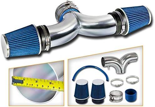Tampa Mall Rtunes Racing Short Ram Air Intake Filter Compa Kit BLUE Combo + Ranking TOP4
