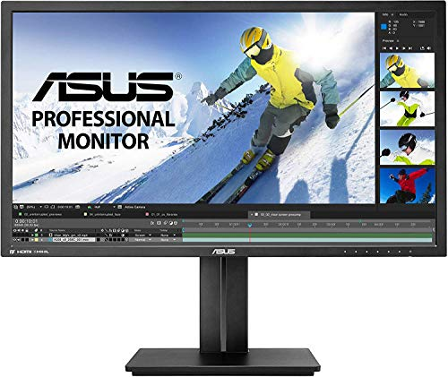ASUS PB287Q 28' 4K/ UHD 3840x2160 1ms DisplayPort HDMI Ergonomic Back-lit LED Monitor,Black