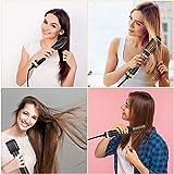Esolom Haartrockner Warmluftbürste 5 In 1 Multifunktions Föhnbürste Hair Styler & Volumizer Negative Ion Haarglätter Bürste Abnehmbarer Bürstenwechselkopf für Alle Haartypen - 3