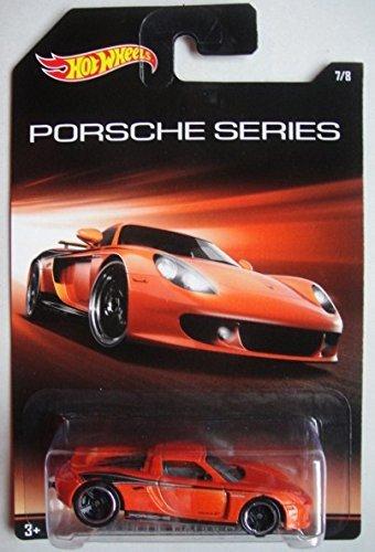 Hot Wheels Porsche Series Porsche Carrera GT 7/8, Orange