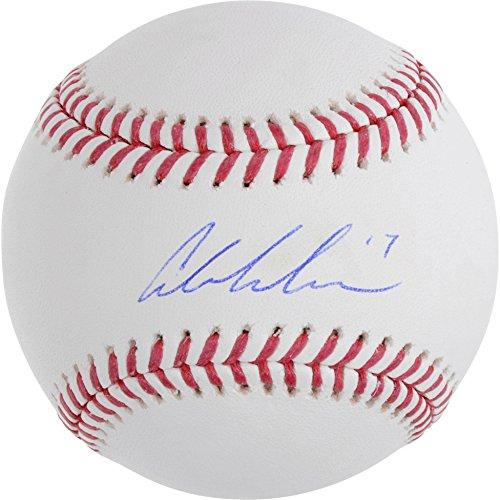 Austin Meadows Tampa Bay Rays Autographed Baseball - Autographed Baseballs