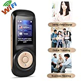 seveni Idioma de Voz Translator Device 52 Idiomas Smart Two Way Translator WiFi Pantalla táctil de 2...