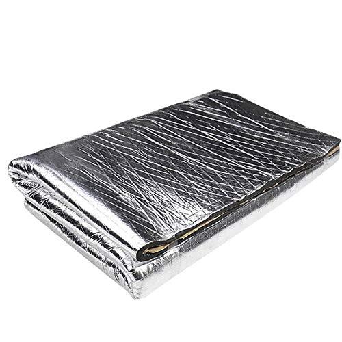 Gesh 10 mm de ruido para coche, aislamiento acústico, impermeable, 152 x 101 cm