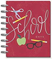 The Happy Planner 日付なし クラシック 先生 ハッピープランナー-学校の日-12ヶ月