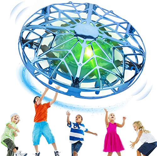 KToyoung Hand Operated Drones for Kids Adults,Hands Free UFO Drone Mini Drone Small Flying Ball Toy Indoor Outdoor Motion Sensor Helicopter Ball Toys for Kids 6 7 8 9 10 and Up Years Boys Girls Gift