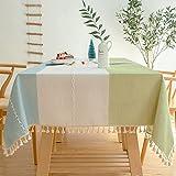 sans_marque Mantel de mesa, cubierta de mesa, adecuado para mesa de buffet, fiesta, cena de vacaciones, celebración de boda mantel, 60 x 60 cm