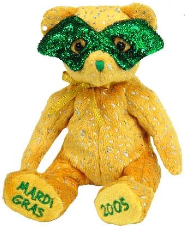 alta calidad TY Beanie Baby - - - MASQUE the Mardi Gras Bear (Internet Exclusive) by Ty  Envío y cambio gratis.