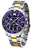 MEGALITH Relojes Hombre Relojes Oro Pulsera Cronografo Diseñador Impermeable Reloj Hombre...