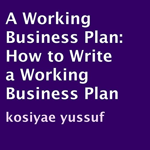 A Working Business Plan cover art