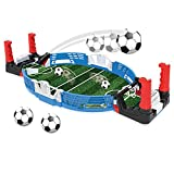 LEAMER Tischkicker Tischfußball Mini Tischplatte Kickertisch Tisch Fußball Spiel Set für Kinder Spiel mit Ball und Spielstandsanzeige