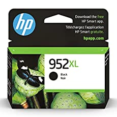 Image of Original HP 952XL Black. Brand catalog list of HP. Rated with a 4.7 over 5