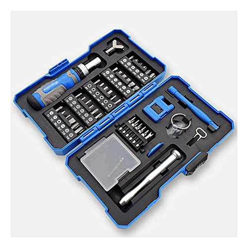 GIAO Juego de Destornilladores de Precisión, Kit de Herramientas Precision de Reparación de Bricolaje Profesional Destornilladores imantados relojero