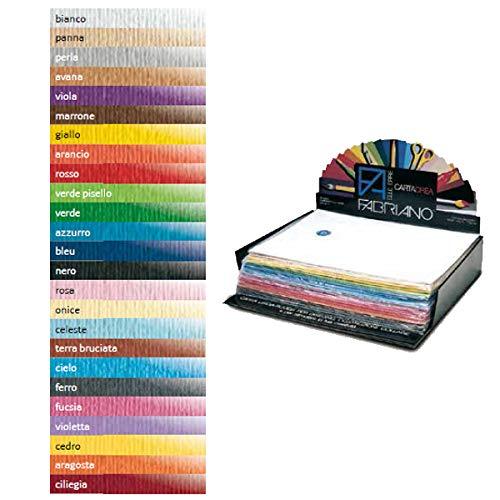 Fabriano 46435113 Inkjet papier 500 x 350 mm blauw – inkjet papier (500 x 350 mm, universeel, blauw, 220 g/m2, 20 vellen)