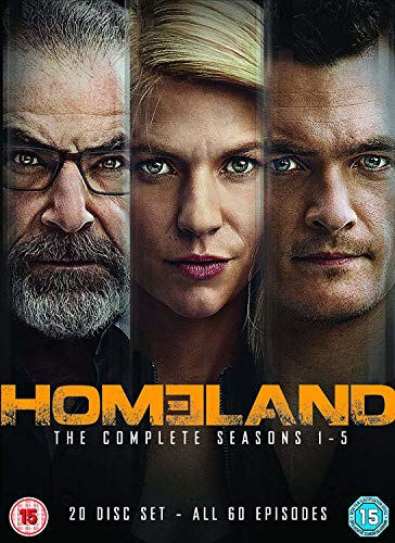 Homeland - Seasons 1-5 (DVD) [UK Import]