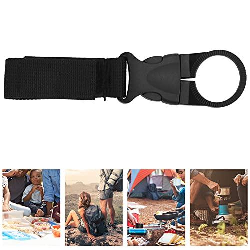 Soporte para botella de agua con cinturón, botella de agua con clip para mochila, uso amplio y firme para exteriores