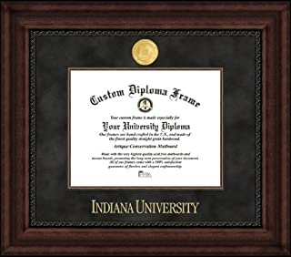 Campus Images IN993EXM Indiana University, Bloomington, Executive Diploma Frame, 8.5