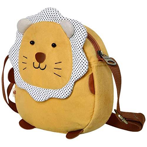 Plüschspielzeug Nette Tasche Dame Cartoon Lion Strap Tasche Diagonale Crossbody Tasche Mädchen Herz Mode Kinder Kleine Messenger Bag Brieftasche A