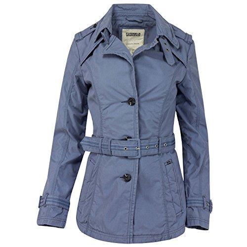 khujo Damen Trenchcoat Kurzmantel, Farbe:Mauve;Größe:M