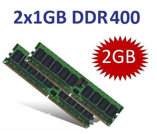 OEM MEMORY (Mihatsch & Diewald) 2GB Dual Channel Kit 2 x 1 GB 184 pin DDR-400 (400Mhz, PC3200, CL3) double sided für DDR1 Intel + AMD Systeme