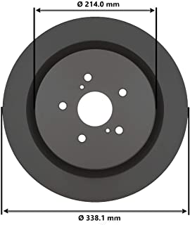 DuraGo BR901592 Front Rotor Vented