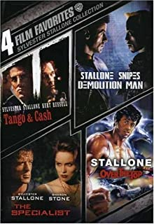 4 Film Favorites: Sylvester Stallone (Demolition Man, Over The Top, The Specialist, Tango & Cash) by Sylvester Stallone