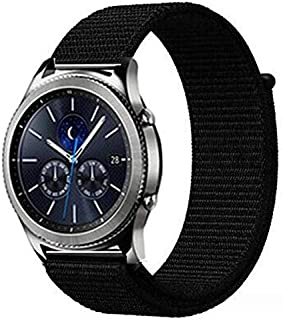 Nylon Strap for Huawei watch GT 22mm/ black