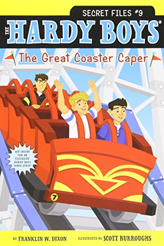 The Great Coaster Caper (Volume 9) (Hardy Boys: The Secret Files, Band 9)