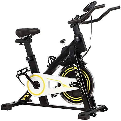 LYYJIAJU Ciclismo Indoor Bicicleta estacionaria - Ciclo de la Bici con el iPad Monte y cómodo cojín de Asiento (Negro)