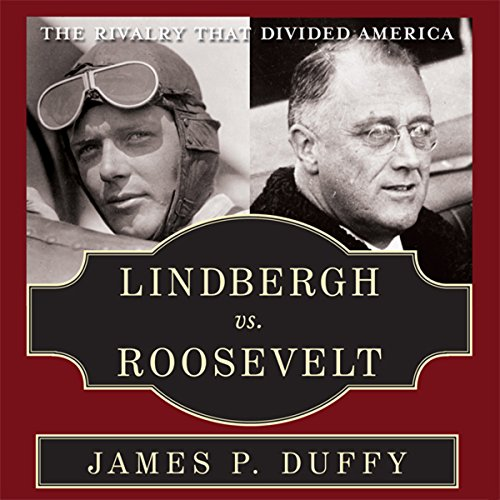 Lindbergh vs. Roosevelt audiobook cover art