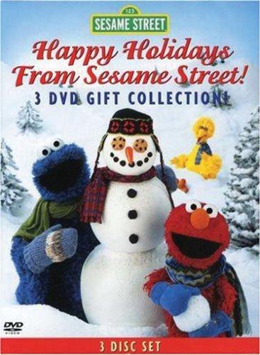 Sesame Street Holiday 3-DVD Gift Collection (Elmo's World: Happy Holidays! / Elmo Saves Christmas / Christmas Eve on Sesame Street)
