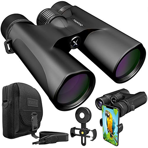 For Sale! Stellax ZoomX Binoculars for Adults 10x42 Waterproof Lightweight Compact Binocular Prism B...