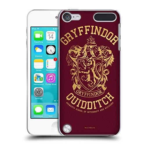 Head Case Designs Ufficiale Harry Potter Gryffindor Quidditch Deathly Hallows X Cover Dura per Parte Posteriore Compatibile con iPod Touch 5G 5th Gen