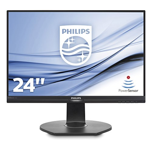 Philips 241B7QPJEB/00 60 cm (23,8 Zoll) Monitor (VGA, HDMI, USB Hub, Displayport, 1920 x 1080, Pivot) schwarz