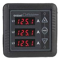 ZT-TTHG AC電流計、高精度実用発電AC電流計テスターデジタルディスプレイAC現在のメータートランスの表示三相交流電流を測定するための