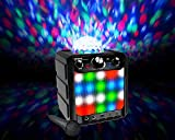 Ion Sound Party Rocker Express Bluetooth Speaker with Lights and Mic, White