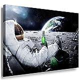 Kosmos Leinwandbild LaraArt Bilder Mehrfarbig Wandbild 100