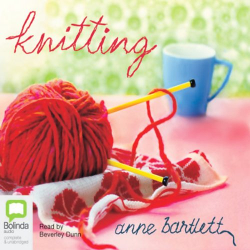 Knitting audiobook cover art