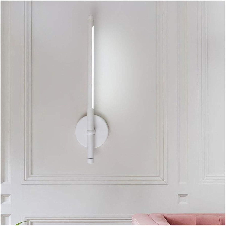 &LED Spiegelfrontlampe Spiegel Frontleuchte LED Badezimmer Studie Schlafzimmer Leselampe Wandleuchte kann gedreht werden, um die Lampe anzupassen Lampe vor dem Spiegel (Farbe   Neutral-48cm)