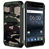 Epxee Case for Nokia 6, Shockproof Heavy Duty Protective