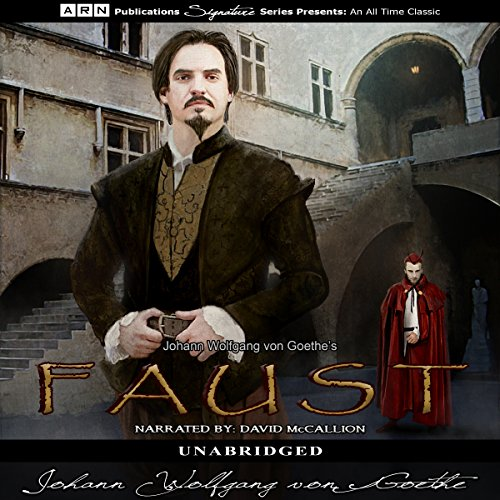 Faust                   By:                                                                                                                                 Johann Wolfgang von Goethe                               Narrated by:                                                                                                                                 David McCallion                      Length: 5 hrs and 6 mins     2 ratings     Overall 3.0