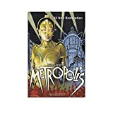 TONGDIAN Metropolis Alfred Abel Vintage Classic Movie